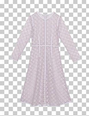 Sleeve Nightwear Dress Neck PNG