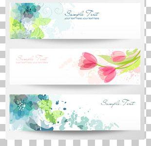 Banner Flower PNG