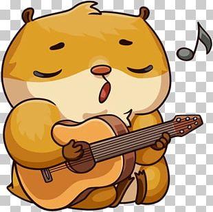 Sticker Telegram VKontakte Entryway Hamster PNG