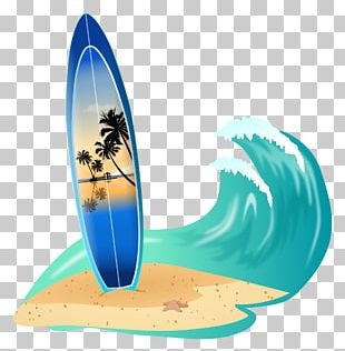 Wedding Invitation Surfing Birthday Surfboard Greeting & Note Cards PNG