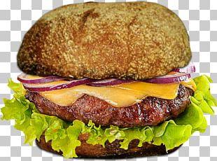 Buffalo Burger Hamburger Cheeseburger Fast Food Breakfast Sandwich PNG