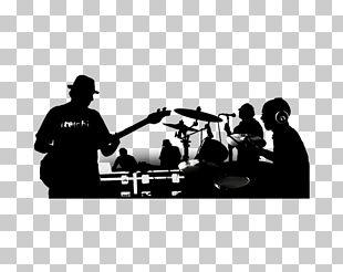 Rock Band Musical Ensemble Silhouette Christian Music PNG