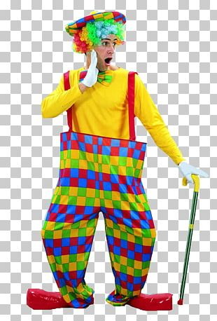 Costume Party Clown Circus Clothing PNG
