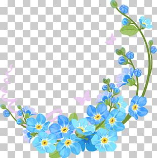 Borders And Frames Flower PNG
