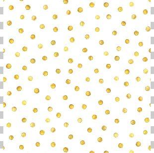 Polka Dot Gold Photography PNG