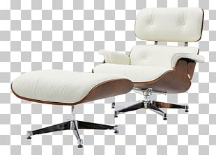 Eames Lounge Chair Foot Rests Chaise Longue Living Room PNG