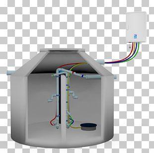 Kleinkläranlage Septic Tank Sewage Treatment Compressor Plastic PNG