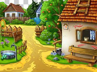 Village Animation Cartoon Desktop PNG