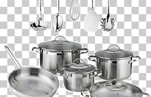 Cookware Kitchen Cooking Stainless Steel Non-stick Surface PNG
