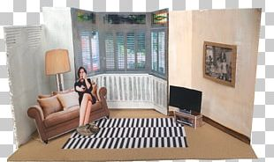 Window Living Room Interior Design Services Property Chair PNG