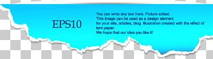 Paper Web Banner Graphic Design PNG