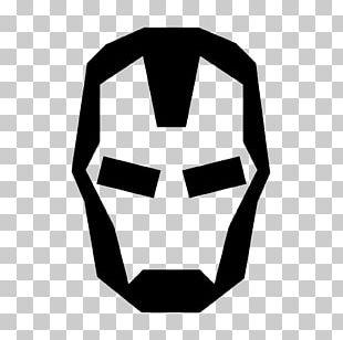 The Iron Man Symbol Logo PNG