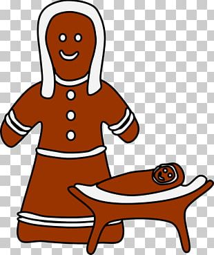 The Gingerbread Man Biscuits PNG