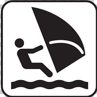 Windsurfing PNG