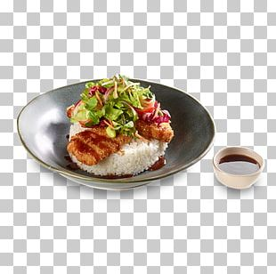 Asian Cuisine Plate Lunch Platter Recipe PNG