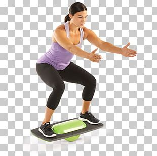 Balance Board Physical Fitness Strength Training Exercise PNG