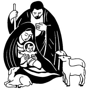 Nativity Scene Christmas Nativity Of Jesus Black Nativity PNG