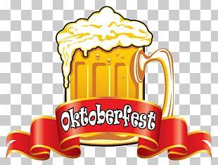 Oktoberfest Beer Glassware German Cuisine PNG