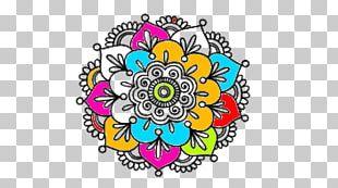 Mandala Coloring Book Tattoo Drawing Mehndi PNG
