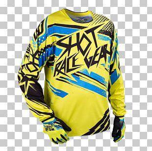 Motocross T-shirt Sports Uniform Sleeve PNG