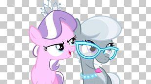 Pony Diamond Tiara Silver PNG