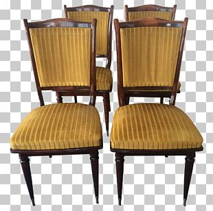 Chair Antique Wood Garden Furniture PNG