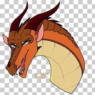 Wings Of Fire Dragon Fan Art Scarlet PNG