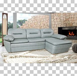 Sofa Bed Chaise Longue Couch Living Room Comfort PNG