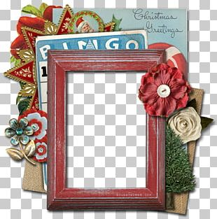 Paper Christmas Frames Gift Handicraft PNG