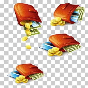 Money Coin Wallet Credit Card PNG