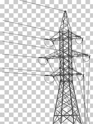 Overhead Power Line Electric Power Transmission Transmission Tower Electricity Electrical Grid PNG