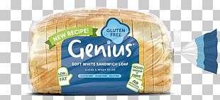 White Bread Muffin Gluten-free Diet Sliced Bread Loaf PNG