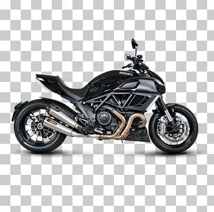 Exhaust System Ducati Scrambler Akrapovič Ducati Diavel Motorcycle PNG