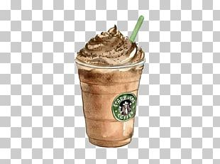 Coffee Tea Latte Starbucks Drawing PNG