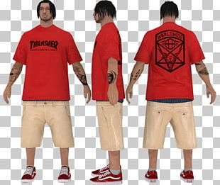 Thrasher San Andreas Multiplayer Grand Theft Auto: San Andreas Jersey T-shirt PNG