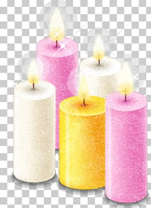 Valentines Day Love Candle PNG