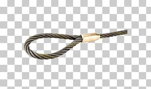 Wire Rope Rigging Electrical Cable PNG