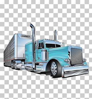 Vehicle Car Semi-trailer Truck Semi-trailer Truck PNG