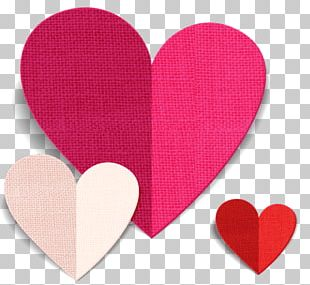 Paper Origami Heart Valentine's Day PNG