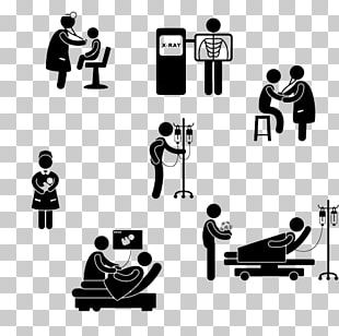Pictogram Medicine Hospital Physician Clinic PNG