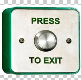 Push-button Electric Gates Electrical Switches Metal Access Control PNG