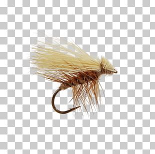 Artificial Fly Elk Hair Caddis Fly Fishing Caddisfly PNG