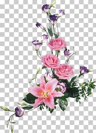 Paper Flower Watercolor Painting Garden Roses PNG
