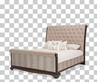 Platform Bed Sable Faux Leather (D8492) Bed Frame Bedroom Furniture Sets PNG
