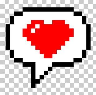 Speech Balloon Pixel Art Drawing PNG