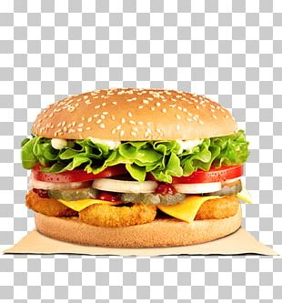 Veggie Burger Cheeseburger McDonald's Quarter Pounder Burger King Hamburger PNG