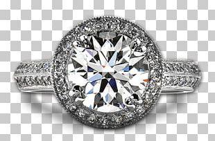 Wedding Ring Engagement Ring Diamond Brilliant PNG