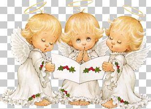 Santa Claus HOLLY BABES Christmas Angel PNG
