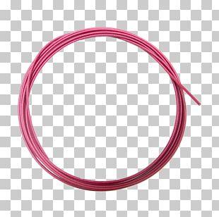 Magenta Body Jewellery Circle Pink M PNG
