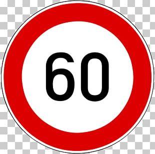 Speed Limit Traffic Sign Kilometer Per Hour PNG